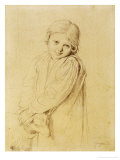 Charlotte-Madeleine Taurel  Daughter of the Engraver  1825