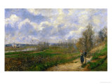 Pathway at Lechou  1878