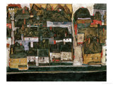 The Small City IV  (Krumau on the Moldau)  1914