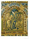 Abraham and the Three Angels  Verdun Altar  Begun 1181  Enamel