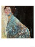 Portrait of a Lady in White, 1917/18 Giclée par Gustav Klimt