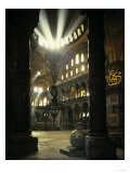 Interior of the Hagia Sophia  Built 533-537 CE