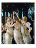 La Primavera  the Three Graces