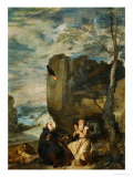 Saint Anthony Abbot and Saint Paul  the First Hermit