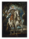 The Duke of Lerma on Horseback  Around 1603