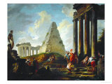Alexander the Great Before the Tomb of Achilles  1755-1757