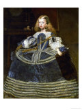 The Infanta Margarita Teresa (1651-1673) in a Blue Dress