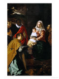 The Adoration of the Magi  1619