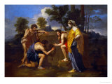 Arcadian Shepherds  circa 1650