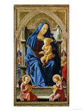 Pisa-Polyptych: The Virgin with the Infant Jesus and Angels  1426