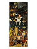 Hell and Its Punishments  Right Panel from the Garden of Earthly Delights Triptych