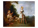 The Dance  Around 1719