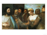 Christ and the Adultress; Unfinished  1512-1515