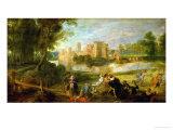 The Palace Garden  circa 1635