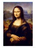 Mona Lisa, 1503-1506 Giclée par Leonardo Da Vinci
