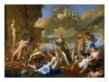 Flora's Realm  1631  Three Gods  Flora  Apollo and Pan; Ajax Killing Himself