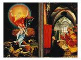 The Isenheim Altar: Christ Resurrection  Annunciaton  Limewood  Around 1515