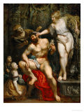 Hercules and Omphale  1602-1605