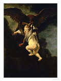 Ganymede in the Claws of the Eagle (Zeus)  1635