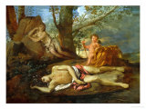 Echo and Narcissus or the Death of Narcissus