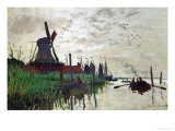 Windmill at Zaandam (Netherlands)  1871