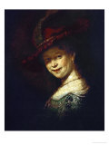 Saskia Van Uylenburgh (Rembrandt's Wife Whom He Married in 1634)