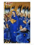Saint Mary and the Choir of Angels  from the Wilton Diptych