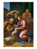 The Holy Family  Called La Grande Sainte Famille De Francois I  1518