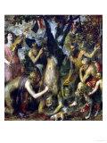 L'écorchement de Marsyas, 1570-1575 œuvre par Titian