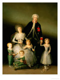 The Duke and the Duchess of Osuna with Their Children  1788