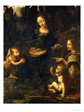 The Madonna of the Rocks Giclée par Leonardo Da Vinci
