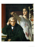 Composer Luigi Cherubini and Muse