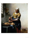 The Milkmaid  1658-1660