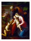 Holy Family with Young John Baptist
