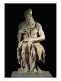 Moses  from the Tomb of Pope Julius II in San Pietro in Vincoli  Rome