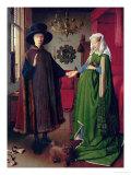 Le marriage de Giovanni Arnolfini Giclée par Jan Van Eyck