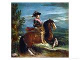 Equestrian Portrait of King Philip IV (1605-1665)