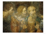 Three Apostles  Detail from Leonardo's Last Supper  1498