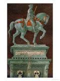 Condottiere John Hawkwood (1320-1394)  Equestrian Portrait