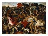 Battle of Joshuas Against the Amalekites  1625