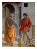 Saint Peter Hands the Tribute to the Tax Collector