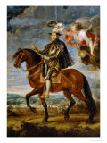 Equestrian Portrait of King Philip (Felipe) II of Spain (1527-1598)