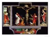 The Isenheim Altar  Closed  circa 1515
