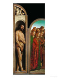 The Ghent Altar  Polyptych with the Adoration of the Mystic Lamb  1432