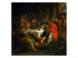 Christ Washing the Apostles&#39; Feet  1632
