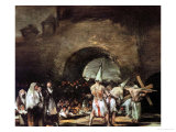 Procession of Flagellants Near an Arch  1813