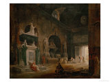View of a Hall of the Museum of French Monuments  after 1798