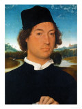 Portrait of an Unknown Man  With Landscape  1490