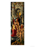 Reception of the Righteous into Heaven  Left Panel of Last Judgment Triptych  1467-71