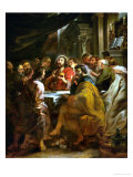 Last Supper  1630-1632  Commissioned by Catherine Lescuyer